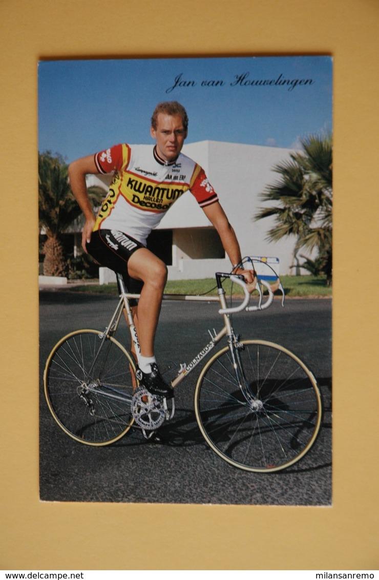 CYCLISME: CYCLISTE : JAN VAN HOUWELINGEN - Wielrennen