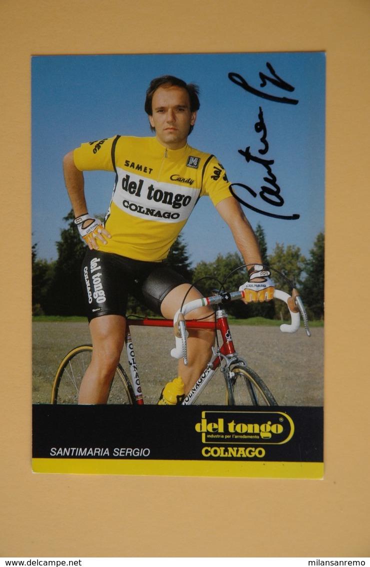 CYCLISME: CYCLISTE : SERGIO SANTIMARIA - Ciclismo