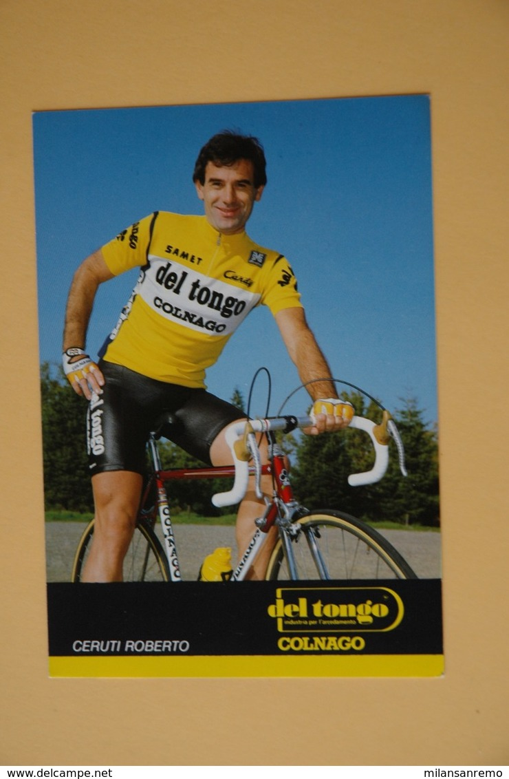 CYCLISME: CYCLISTE : ROBERTO CERUTI - Cyclisme