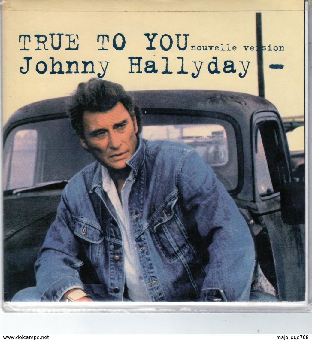 Johnny Hallyday - True To You(nouvelle Version) - La Guitare Fait Mal - Philips 8643087 - 1992 - - Rock