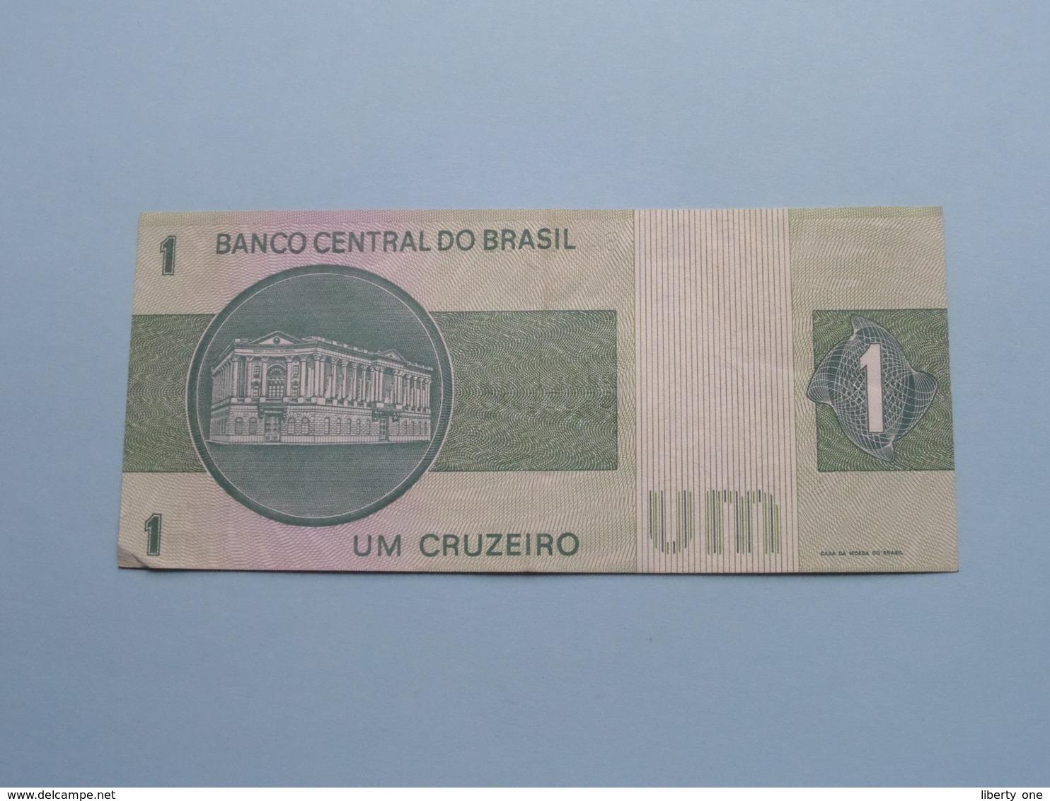 UM 1 CRUZEIROS > BRASIL ( For Grade, Please See Photo ) ! - Brésil