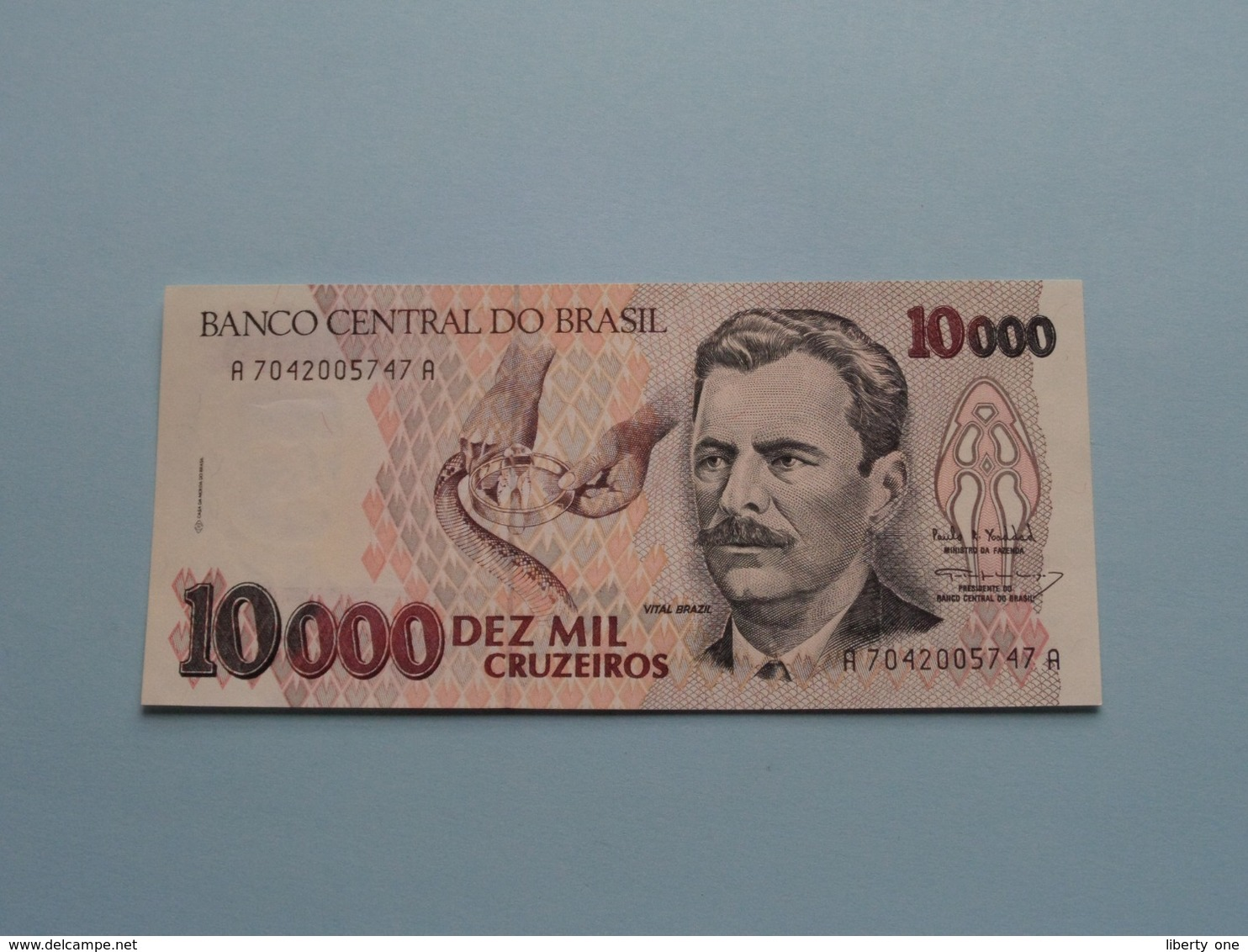 DEZ MIL 10000 CRUZEIROS > BRASIL ( For Grade, Please See Photo ) ! - Brésil