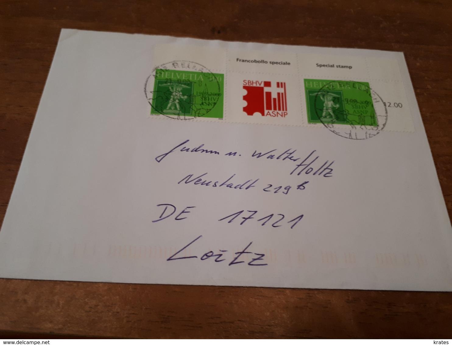 Old Letter - Switzerland, Helvetia - Non Classés