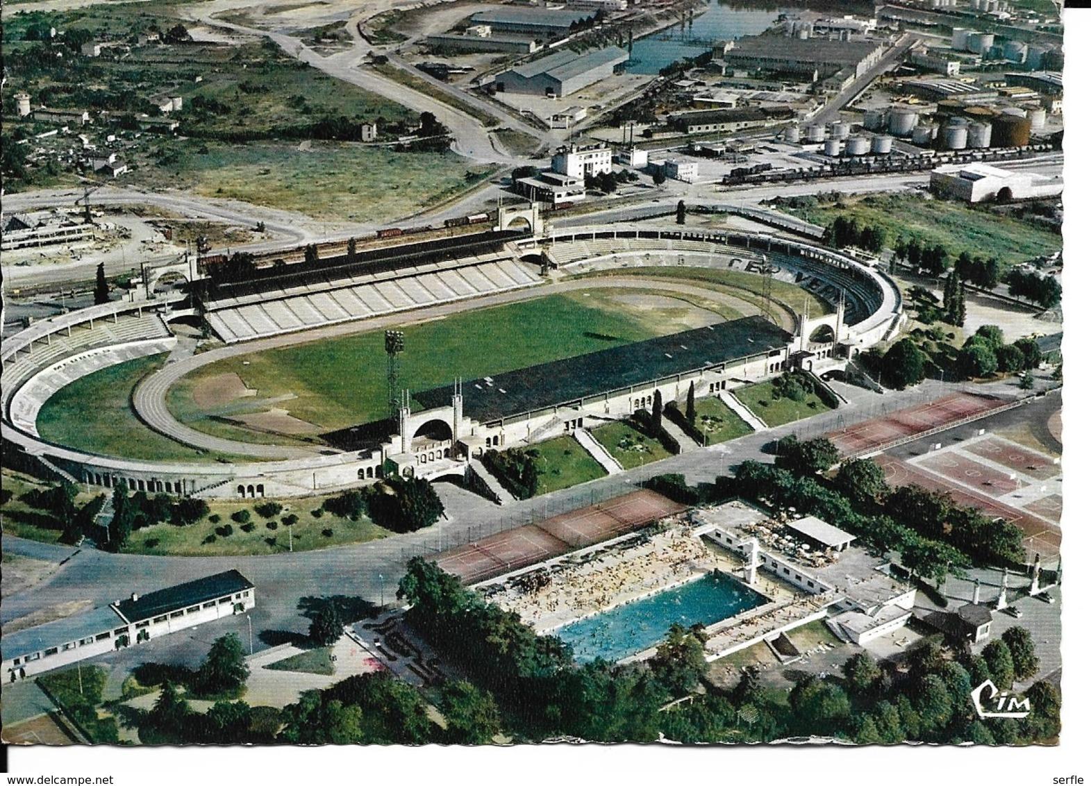 69 - Lyon - Vue Aérienne - Stade Municipal De Gerland - La Piscine - Lyon
