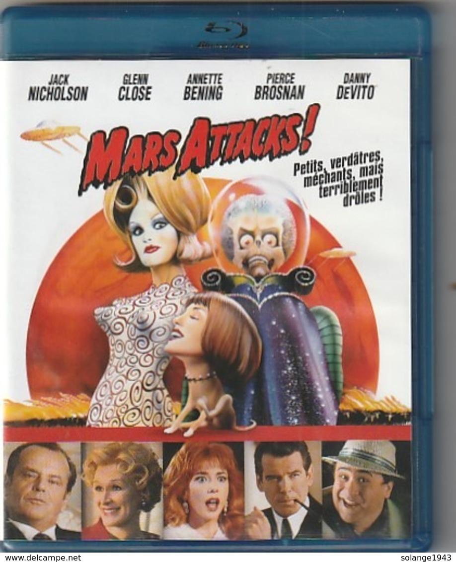 DVD BLU RAY    MARS ATTAQUE  (  TTB  état ) - Ciencia Ficción Y Fantasía
