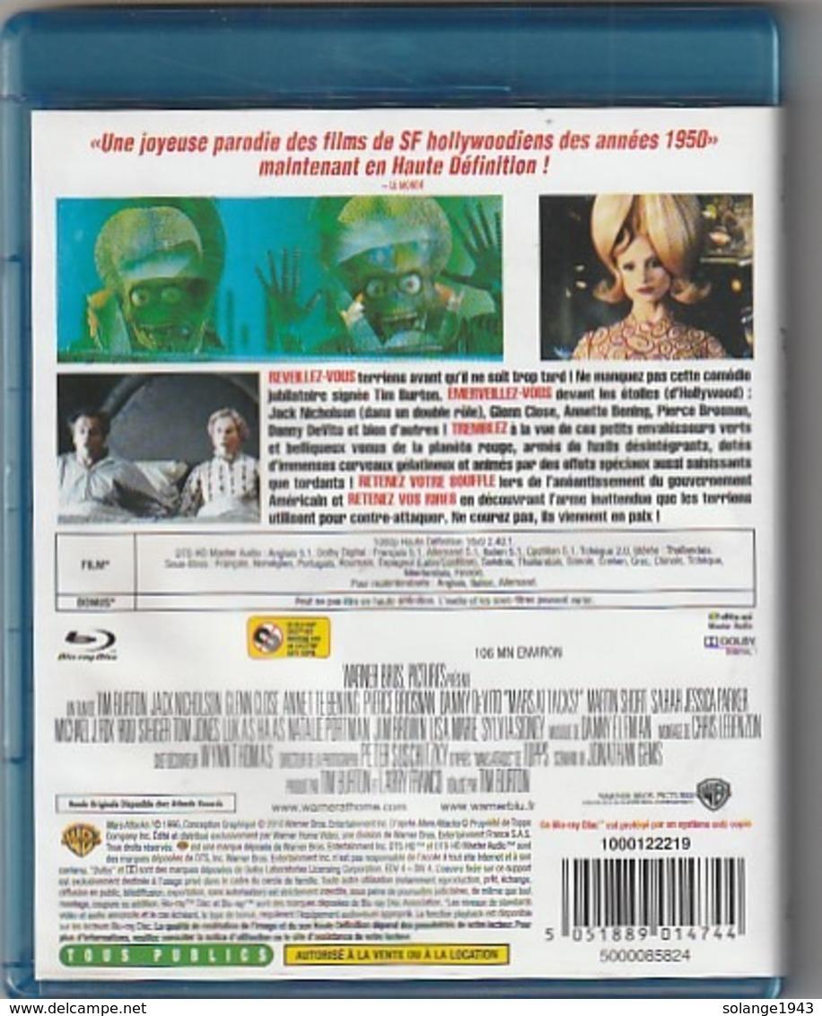 DVD BLU RAY    MARS ATTAQUE  (  TTB  état ) - Science-Fiction & Fantasy