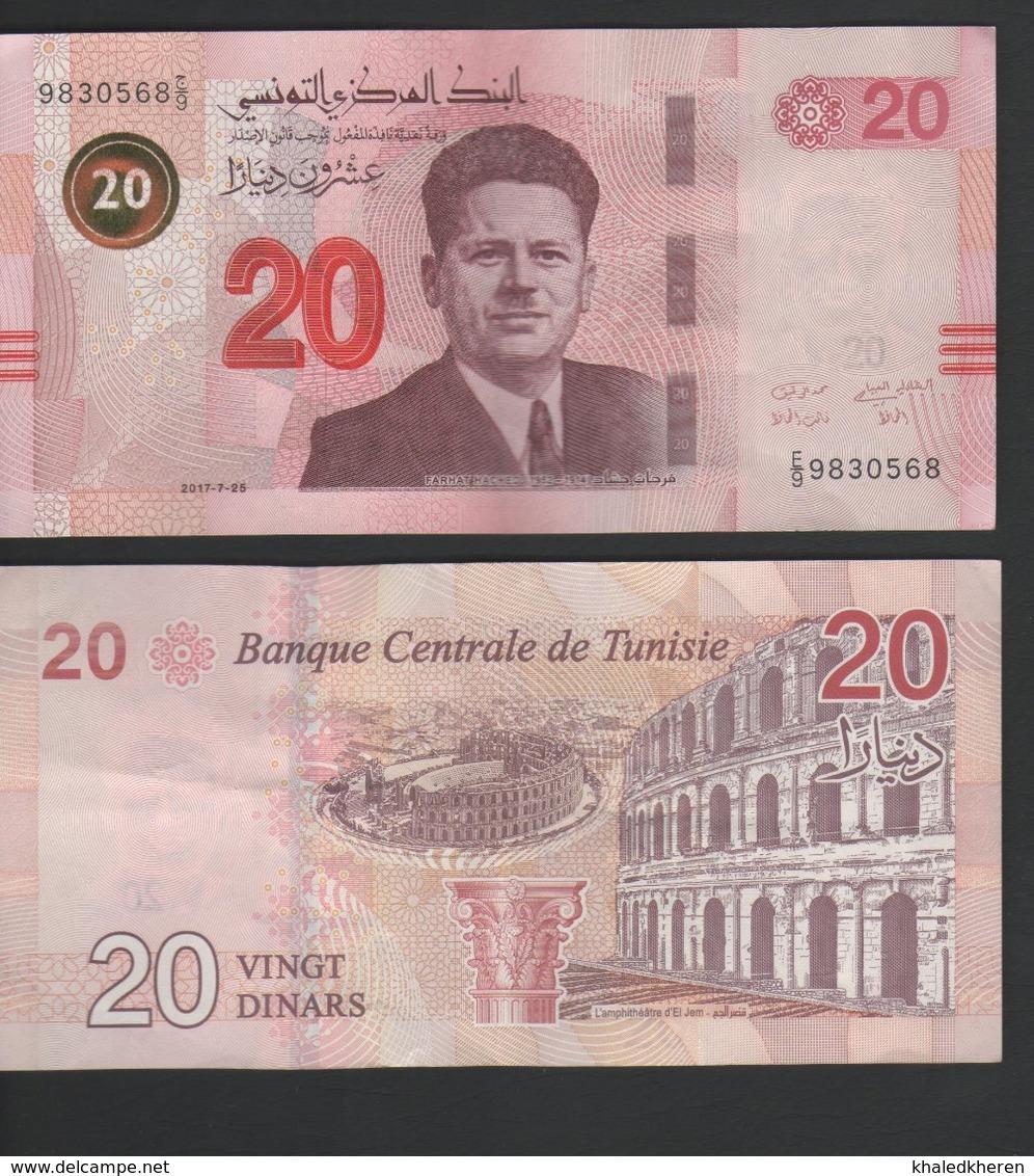 20 Dinars 2017 Tunisie Tunisia - Tunisia