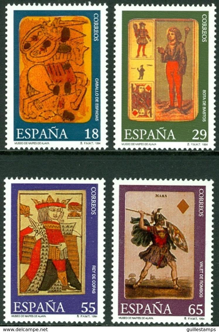 SPAIN 1994 PLAYING CARDS** (MNH) - 1931-Hoy: 2ª República - ... Juan Carlos I