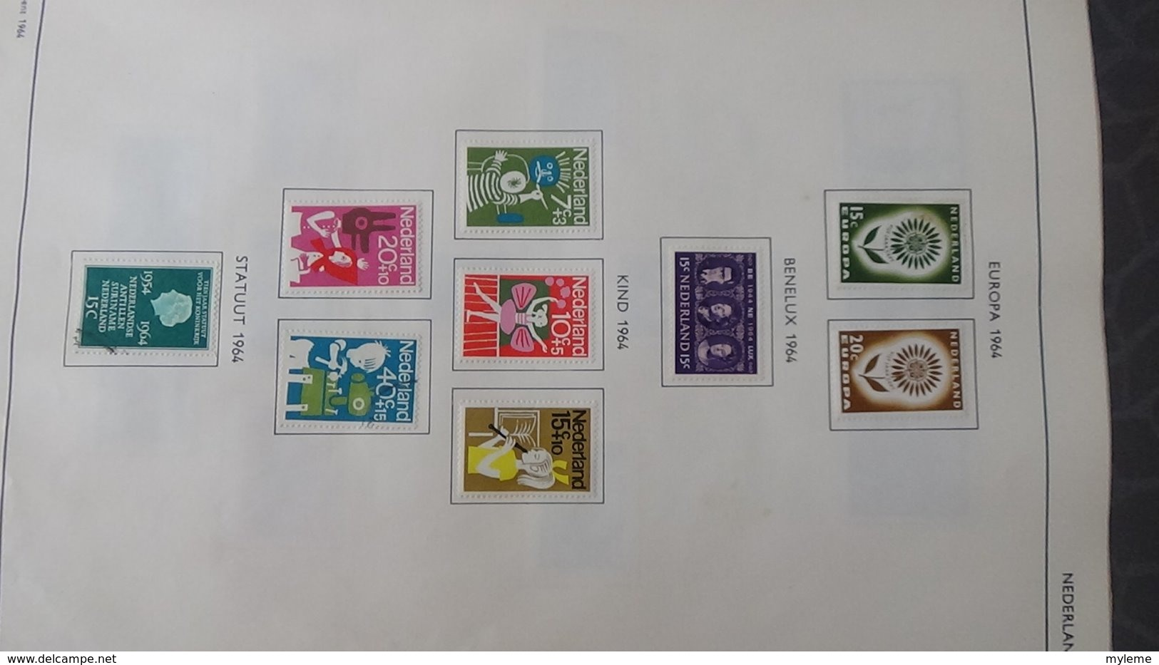 Belle Collection De HOLLANDE Dont Des Doubles Superposés. Idéal Pour Combler Des Thématiques. - Timbres