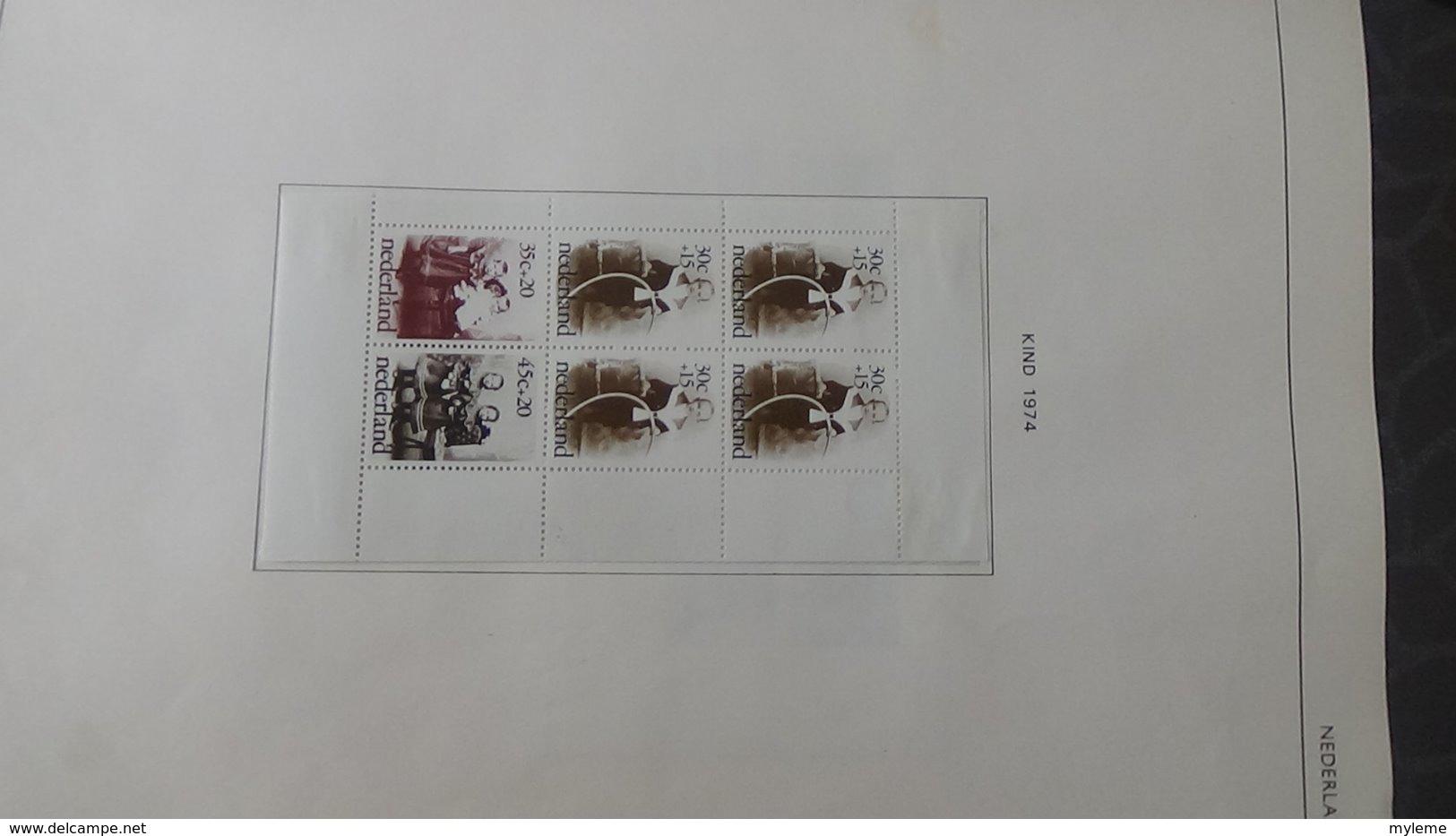 Belle Collection De HOLLANDE Dont Des Doubles Superposés. Idéal Pour Combler Des Thématiques. - Collections (with Albums)