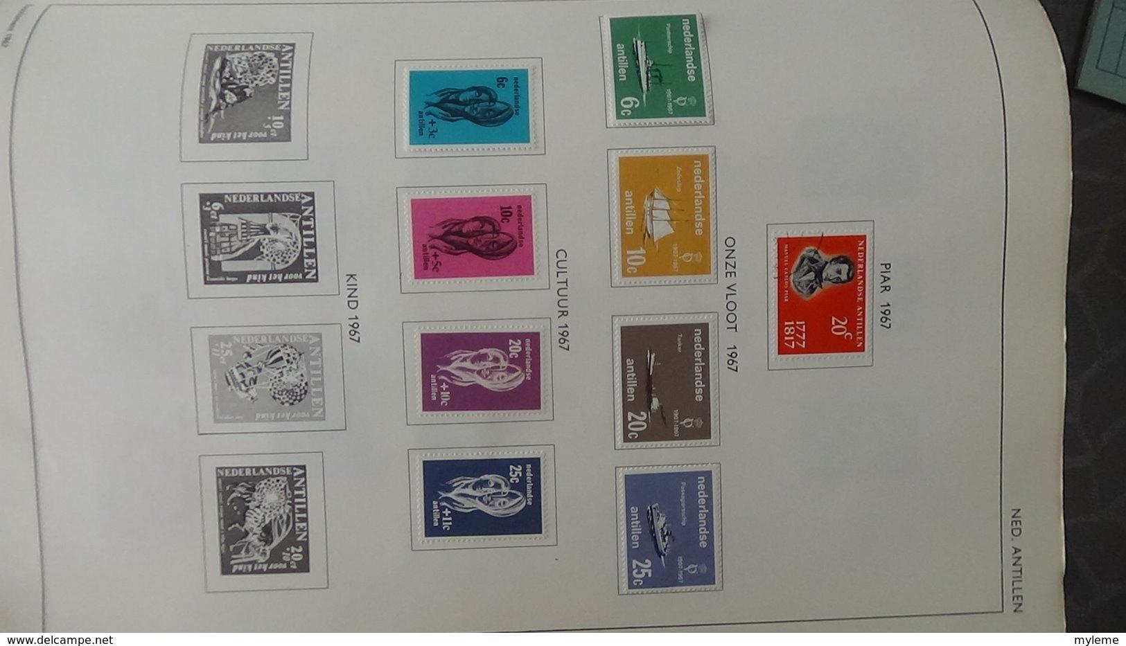 Belle Collection De HOLLANDE Dont Des Doubles Superposés. Idéal Pour Combler Des Thématiques. - Francobolli