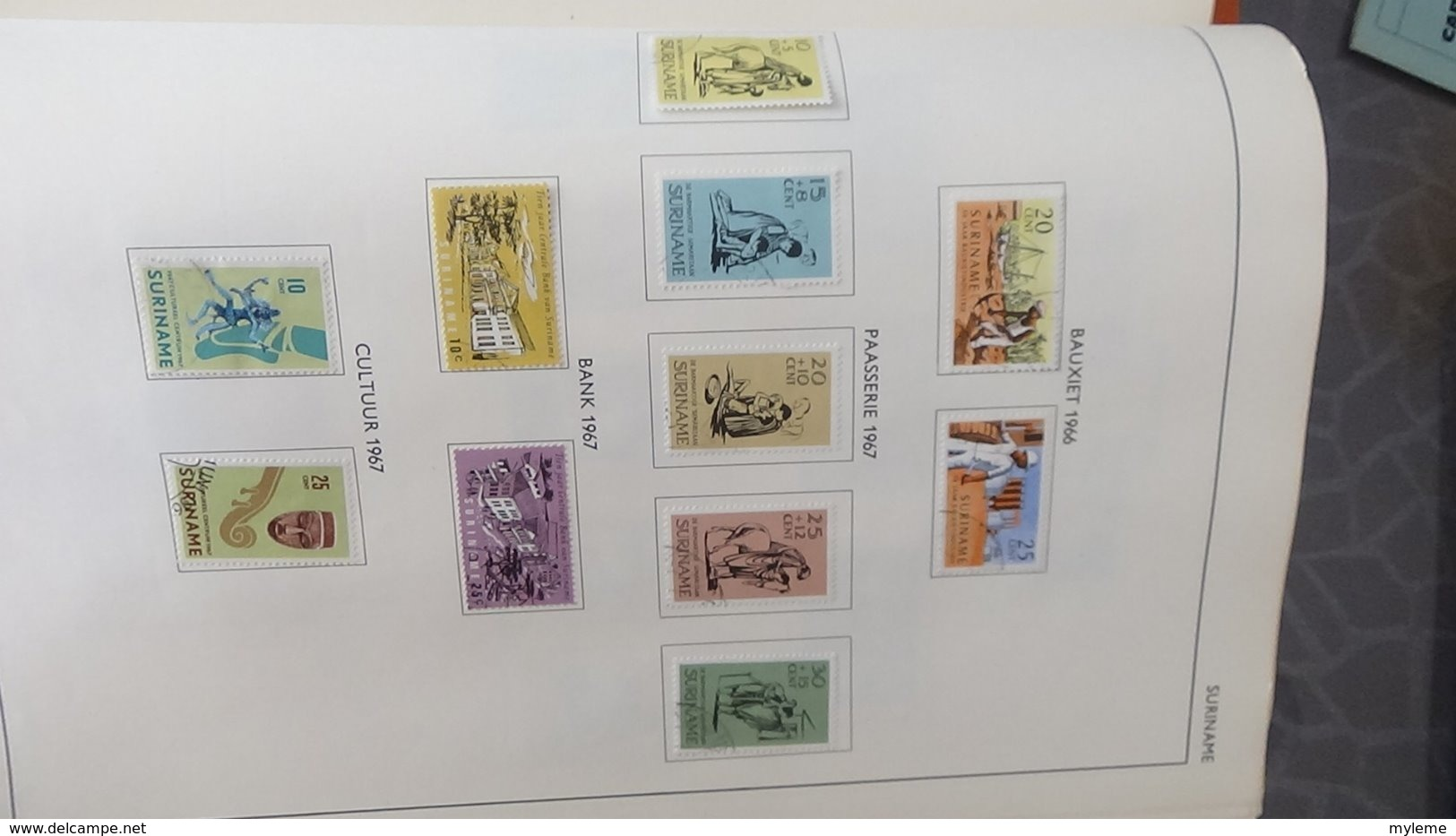 Belle Collection De HOLLANDE Dont Des Doubles Superposés. Idéal Pour Combler Des Thématiques. - Collections (en Albums)