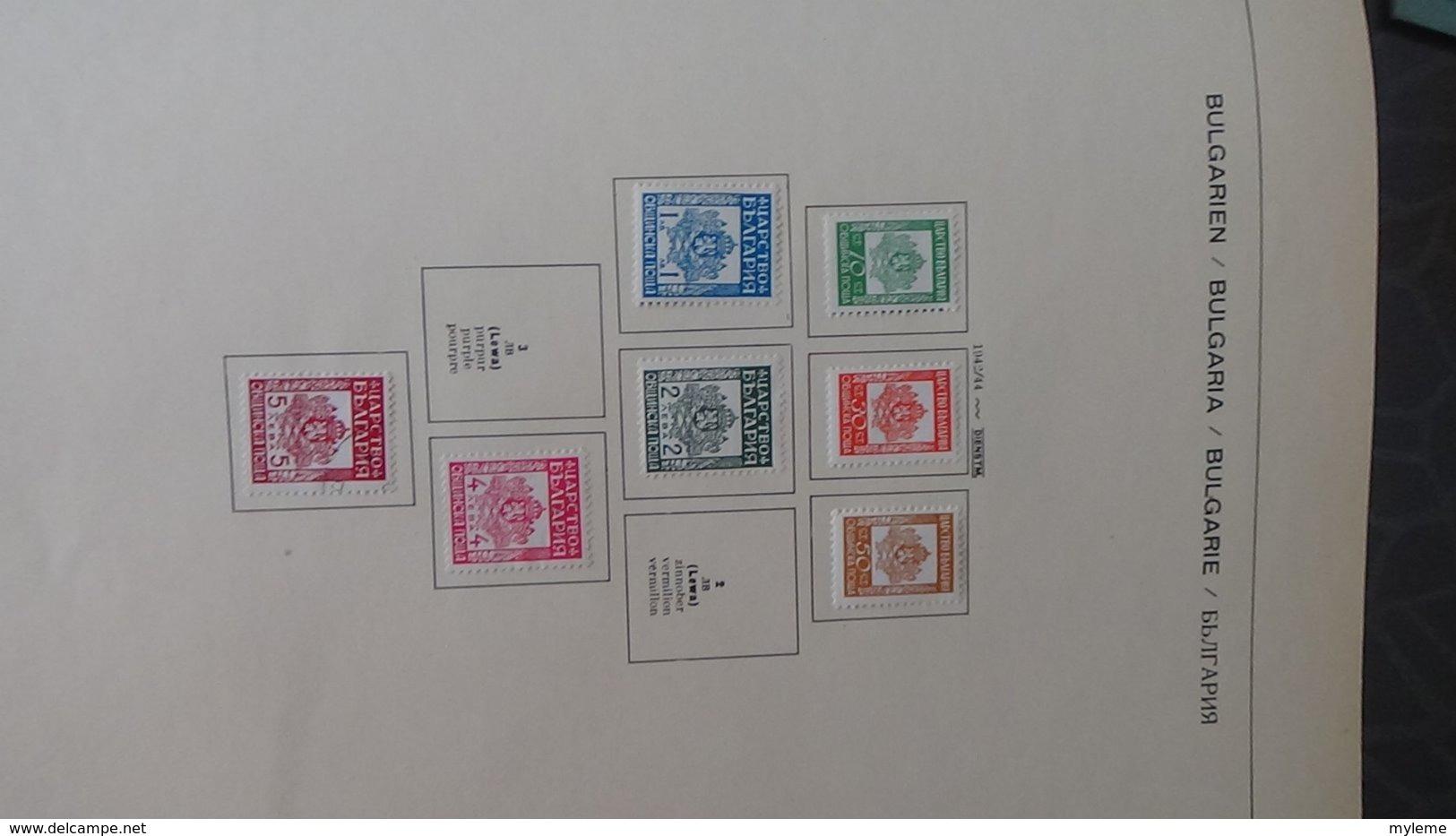 Belle Collection De BULGARIE Dont Des Doubles Superposés. Idéal Pour Combler Des Thématiques. - Timbres