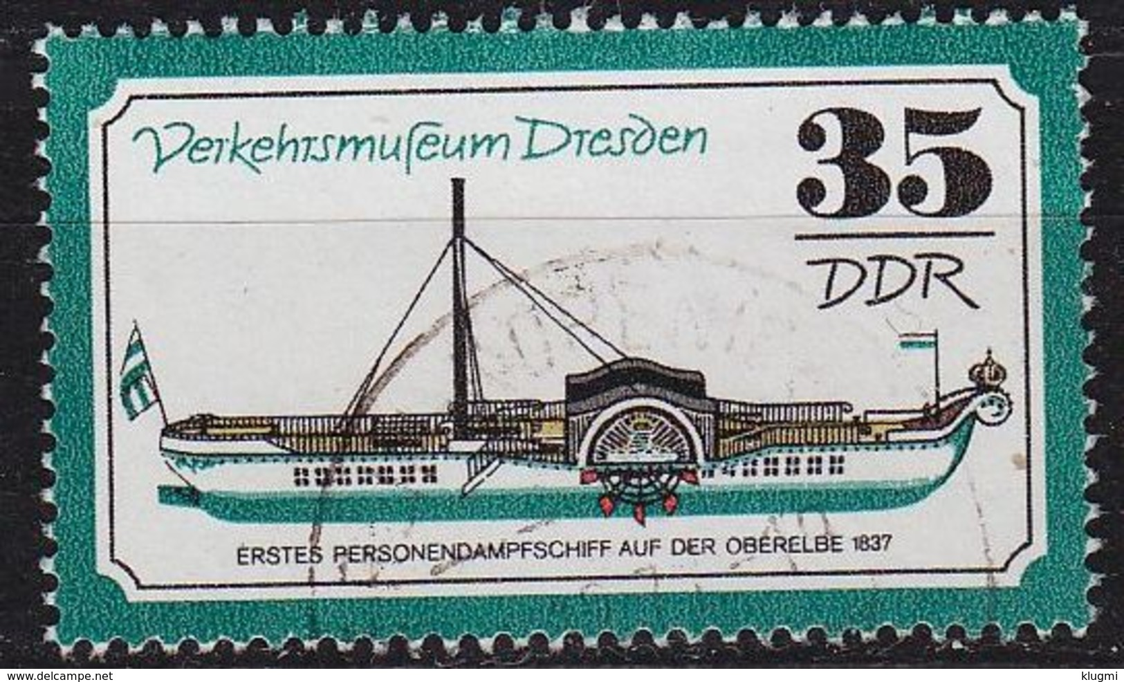 GERMANY DDR [1977] MiNr 2258 ( OO/used ) Verkehr - Gebraucht