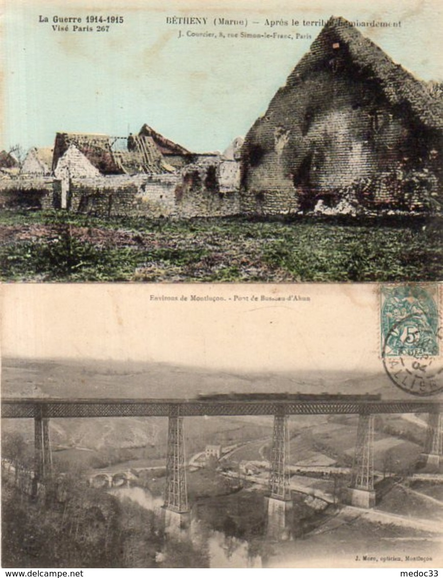 Lot De 100 Cpa De France (Nombreuses Petites Animations) - Postkaarten