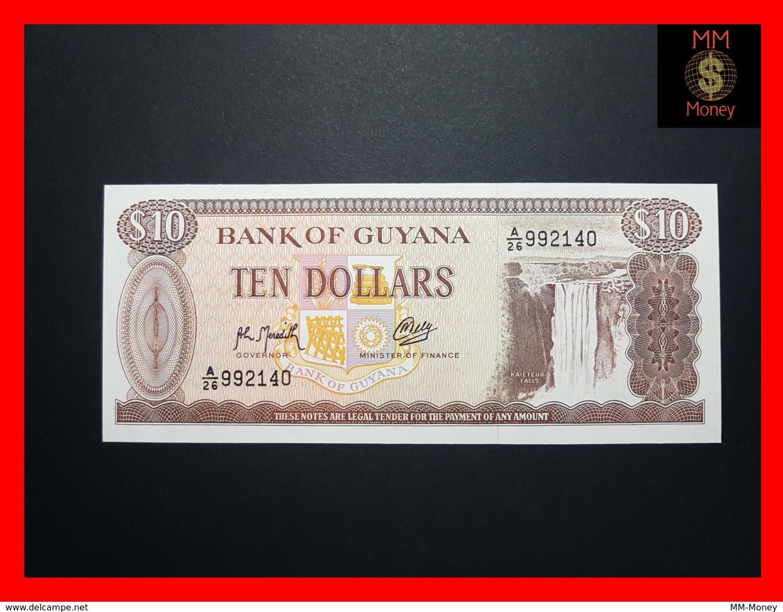 GUYANA 10 DOLLARS P. 23 F   UNC - Guyana
