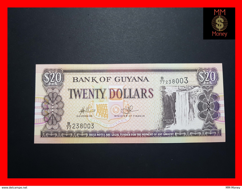 GUYANA 20 DOLLARS P. 30 E UNC - Guyana