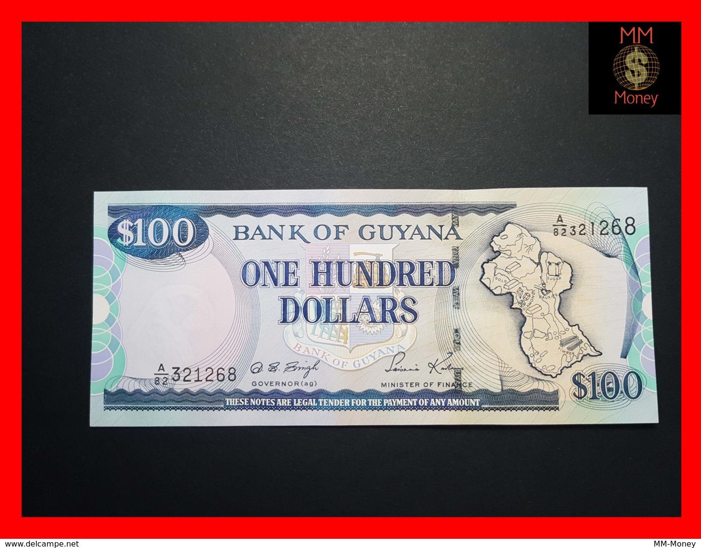 GUYANA 100 DOLLARS P. 31  Sig. 12  UNC - Guyana