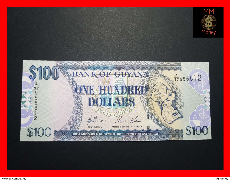 GUYANA 100 DOLLARS 2005 P. 36 A UNC - Guyana