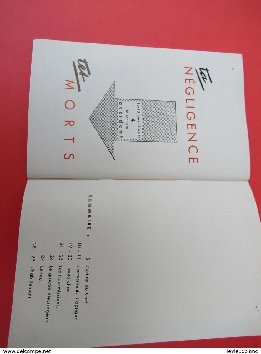 Livret/Militaria / Tu Es Responsable De Ton Matériel/ / Vers 1958  VPN198 - Books