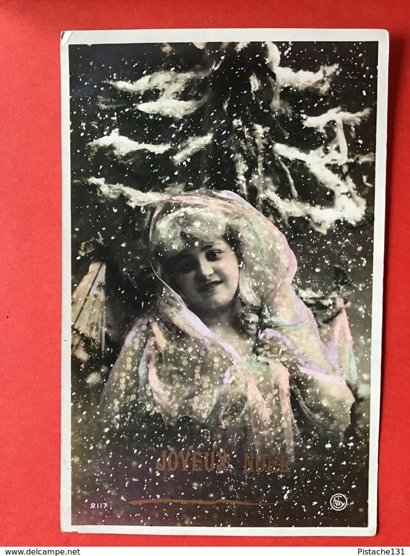 1907 - FEMME DANS LA NEIGE - IN DE SNEEUW - Femmes