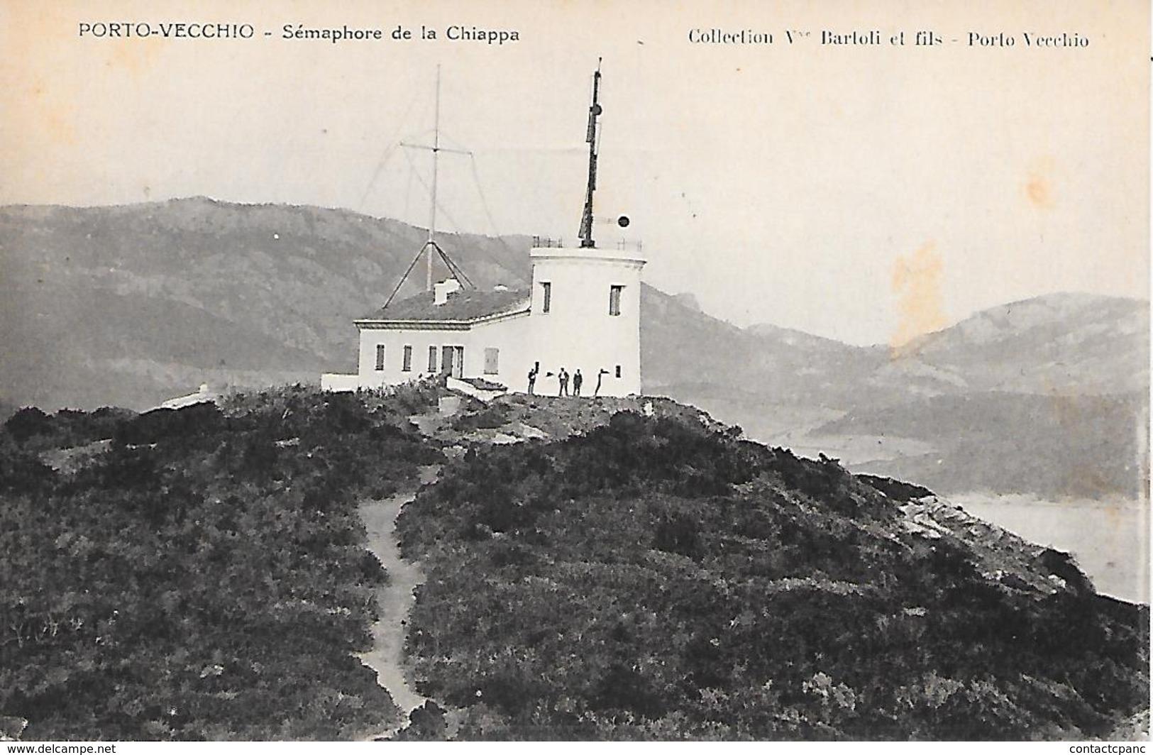 PORTO VECCHIO ( 20 ) - Sémaphore De La Chiappa - Other Municipalities