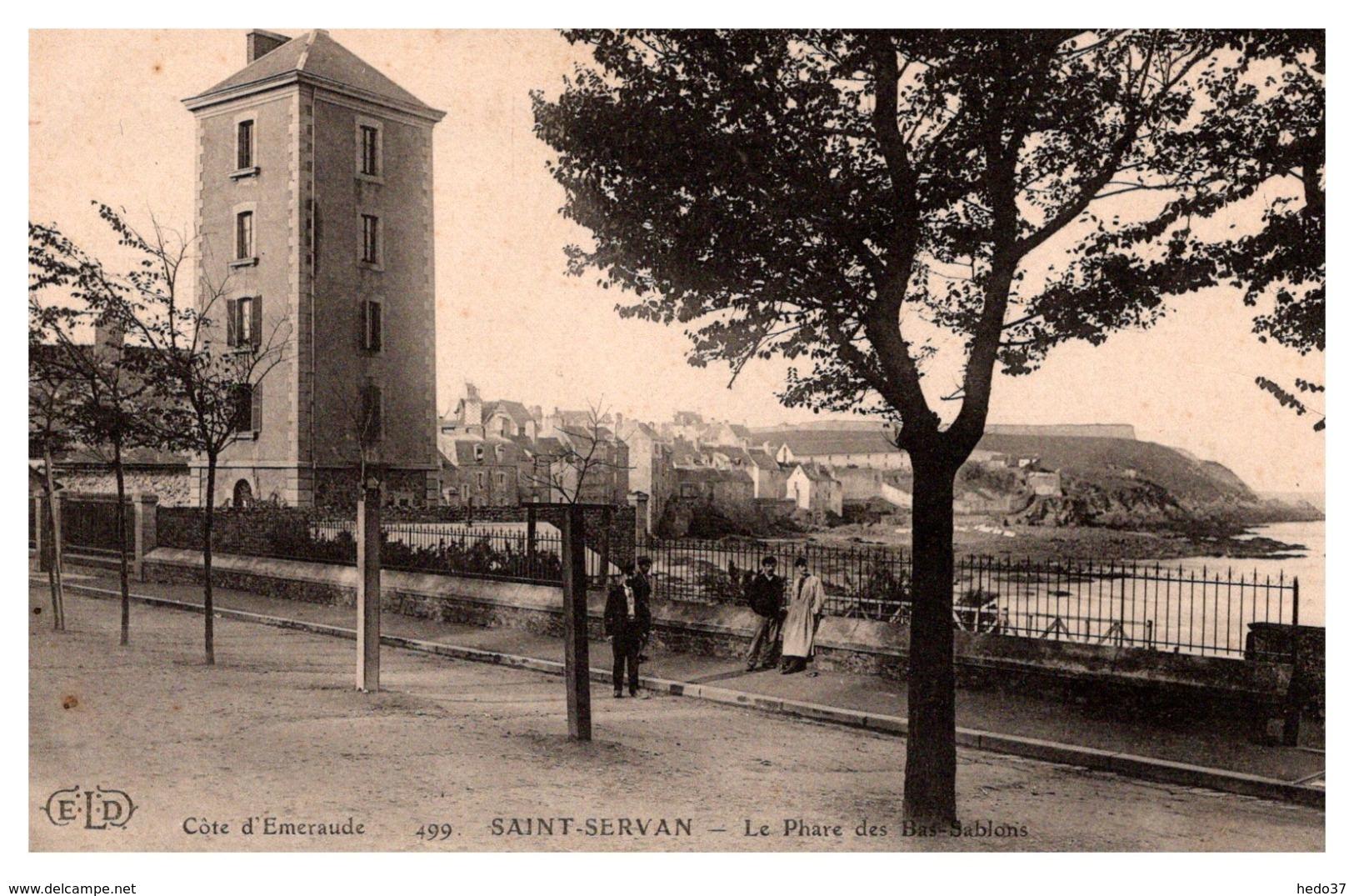 Saint Servan - Le Phare Des Bas Sablons - Autres Communes
