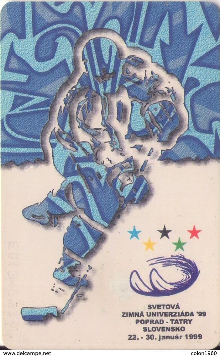 ESLOVAQUIA. World Winter Universiade '99. ICE HOCKEY. A 107, 31/98 ST. (034) - Jeux Olympiques