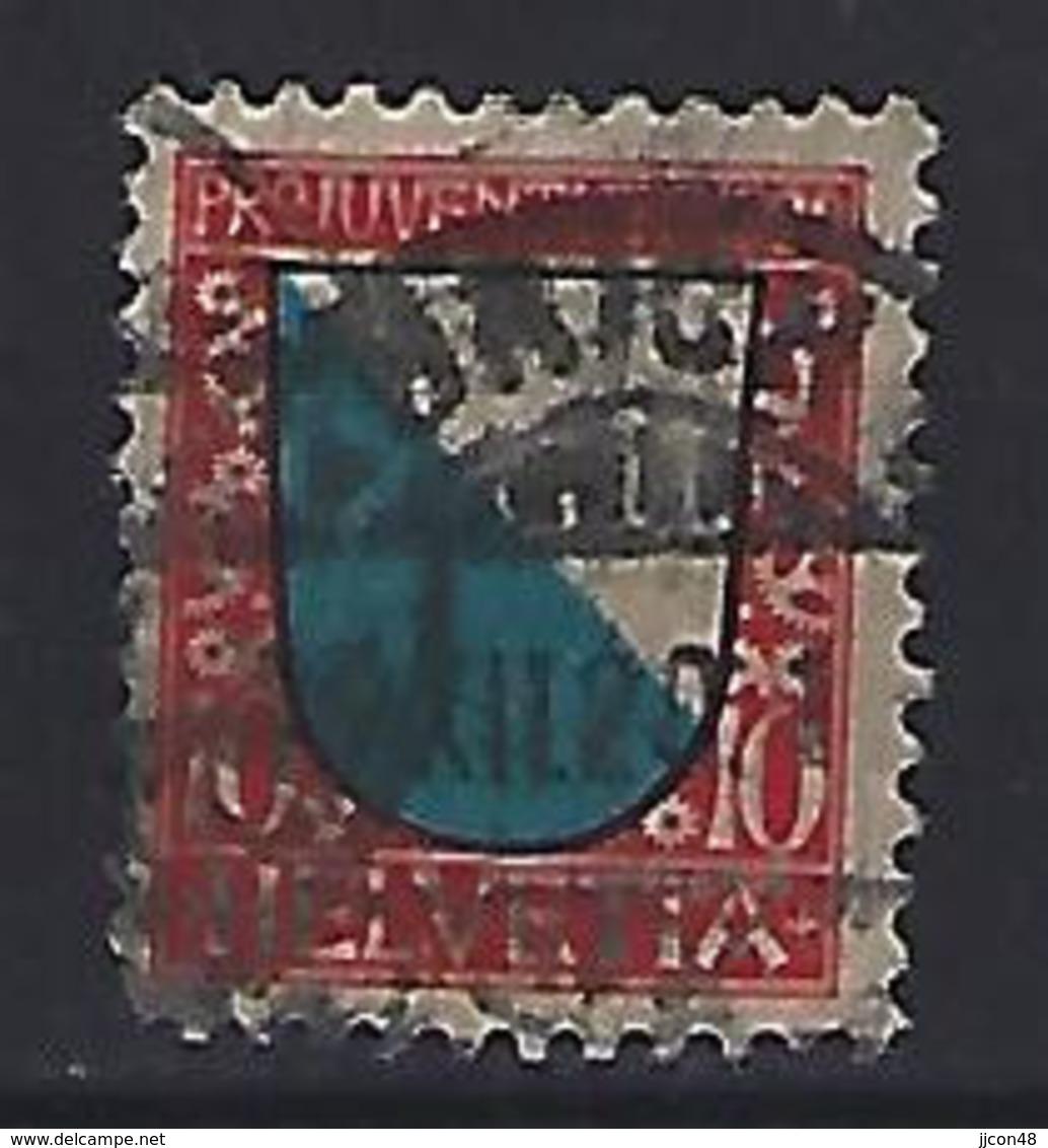 Switzerland 1920  Pro Juventute (o)  Mi.154 - Pro Juventute
