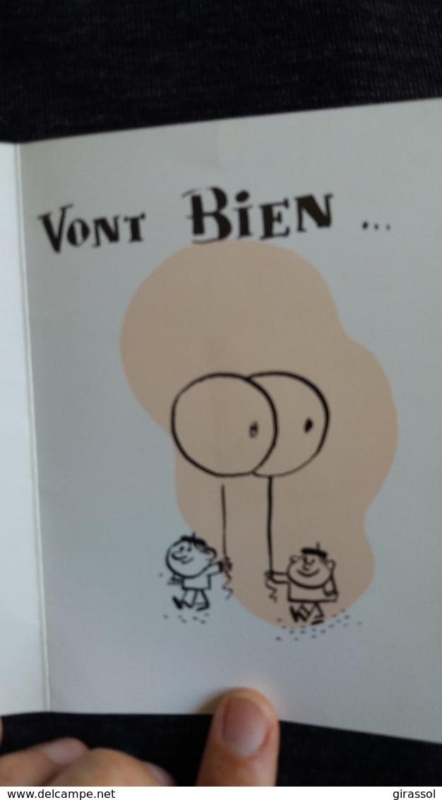 CPSM DOUBLE HUMOUR TROMPE L OEIL LES PETITS   SEINS  VONT BIEN ENFANTS BALLON ED VAYSSE - Humor
