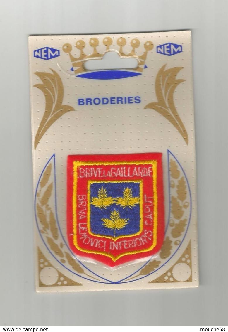 Écusson Tissu  Broderie Brive La Gaillarde - Ecussons Tissu
