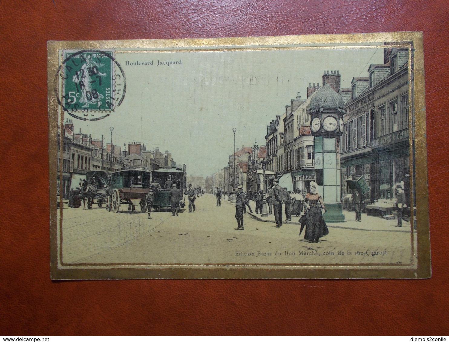 Carte Postale  - CALAIS (62) - Boulevard Jacquard (3475) - Calais