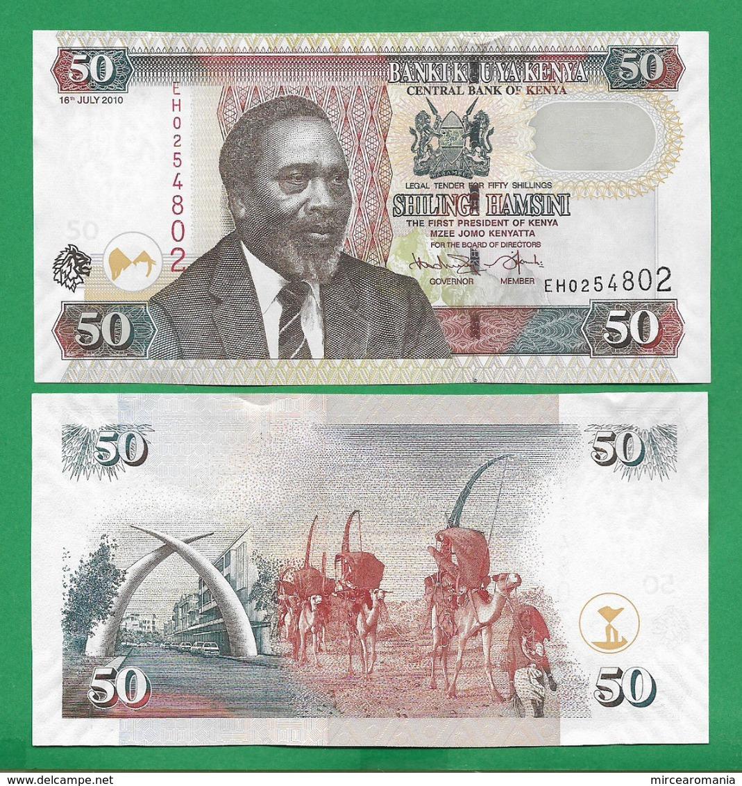 KENYA - 50 SHILLINGS - 2010 - UNC - Kenya