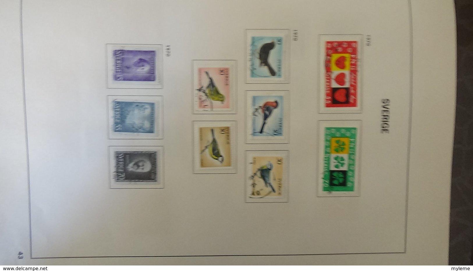 Belle Collection De SUEDE Idéal Pour Combler Des Thématiques. (toutes Les Photos N'ont Pas été Prises) - Timbres