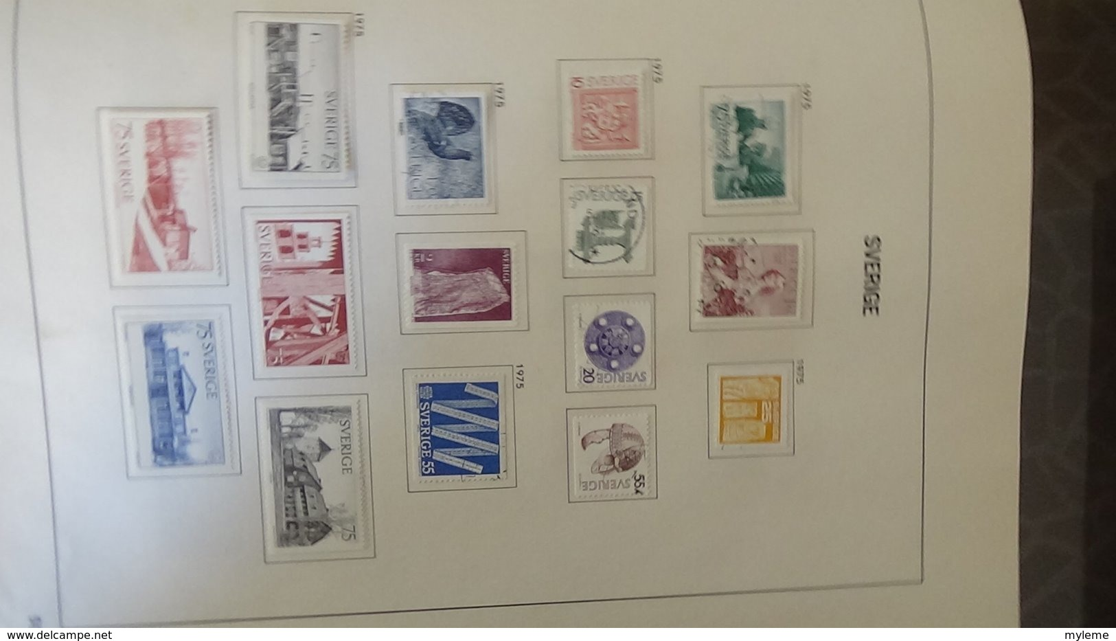 Belle Collection De SUEDE Idéal Pour Combler Des Thématiques. (toutes Les Photos N'ont Pas été Prises) - Stamps