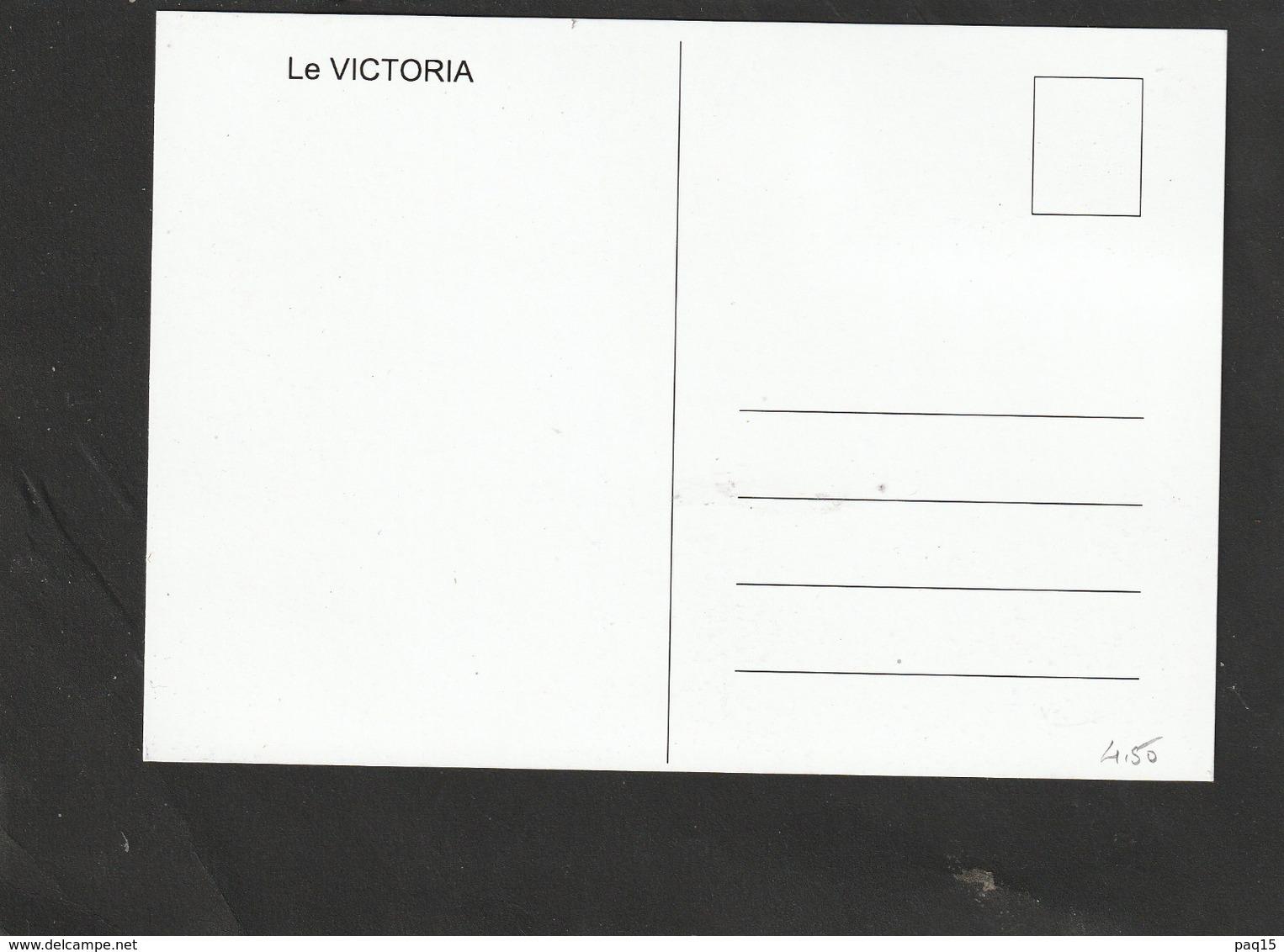 Carte Maximum - S.P & Miquelon Bateau Le Victoria OPJ 13/03/2019 - Maximumkaarten