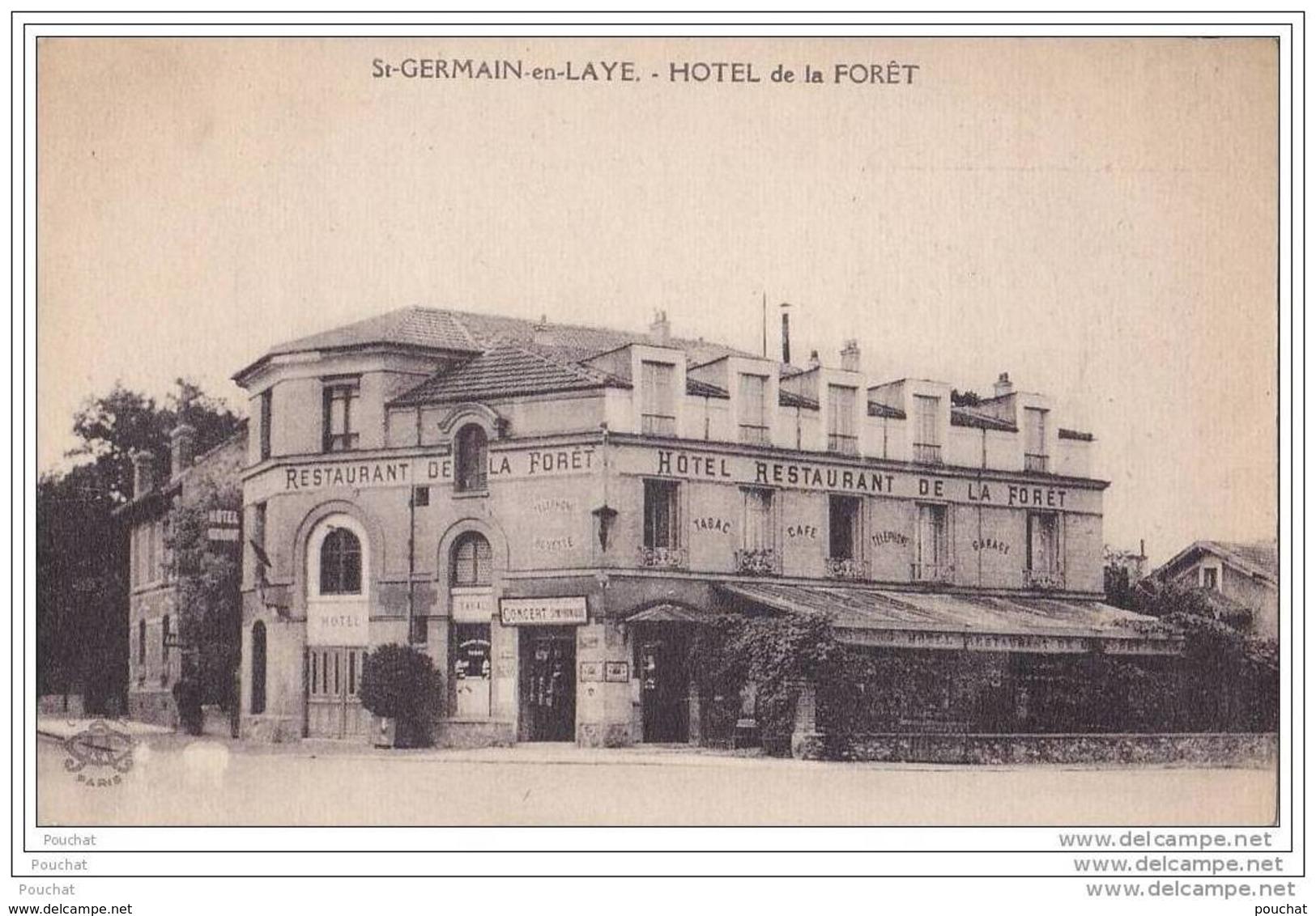 78) Saint  Germain En Laye.-  Hôtel De La  Forêt - St. Germain En Laye