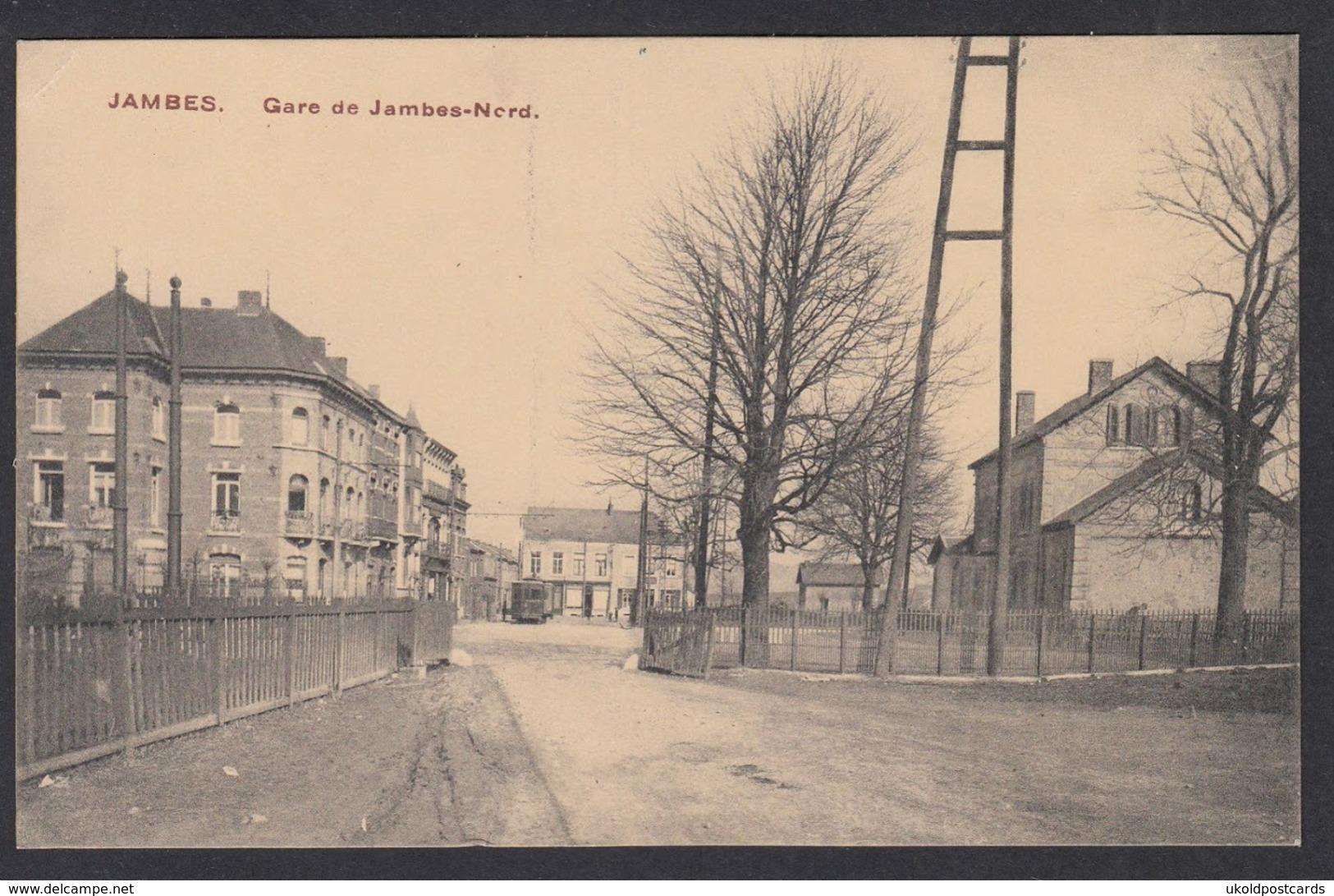 CPA -  Belgique, JAMBES, Gare De Jambes-Nord - Namen