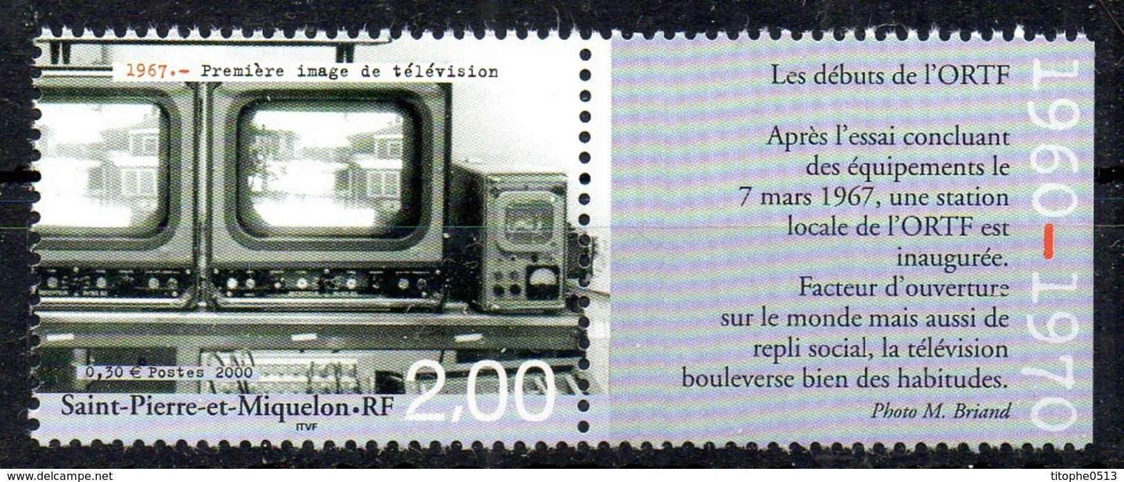 SAINT-PIERRE-ET-MIQUELON. N°730 De 2000. Télévision. - Telecom