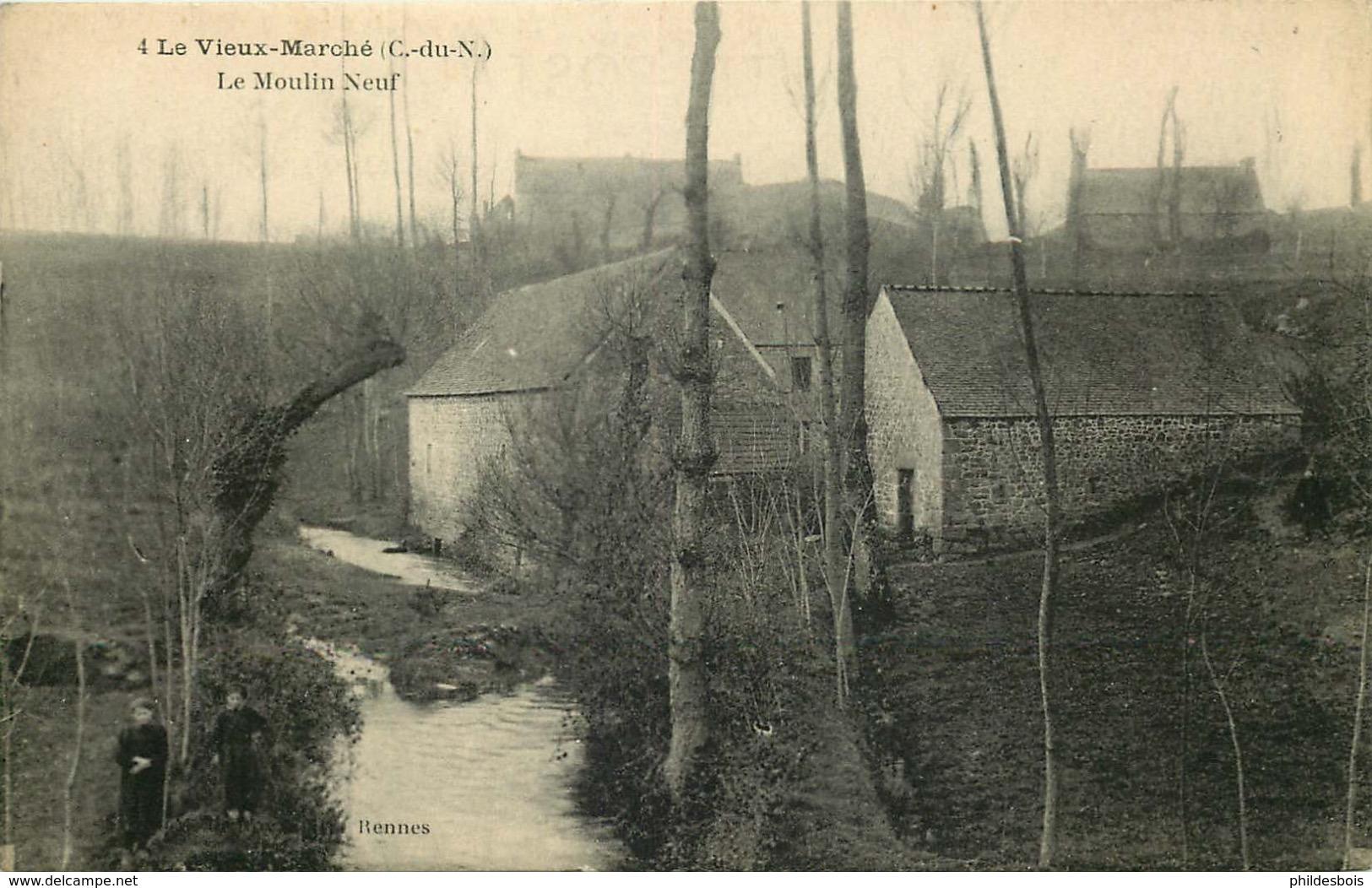 COTES D'ARMOR  LE VIEUX MARCHE   Le Moulin Neuf - Other Municipalities