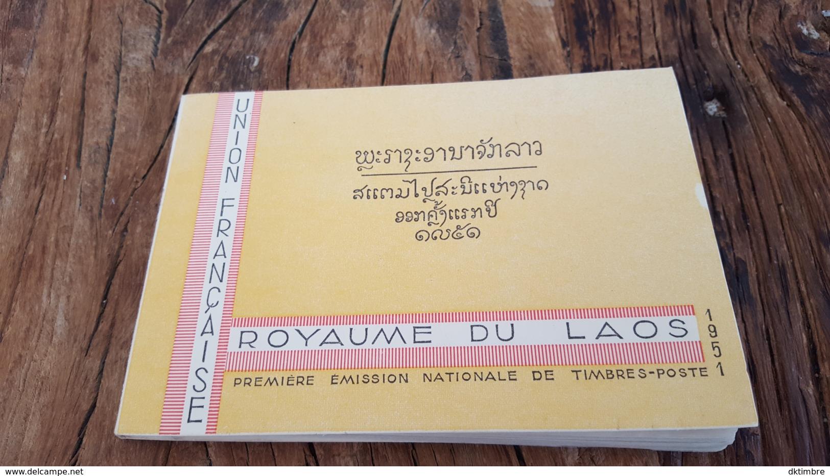 LOT 469377 TIMBRE DE LAOS NEUF** CARNET COMPLET DE BLOC LUXE - Laos
