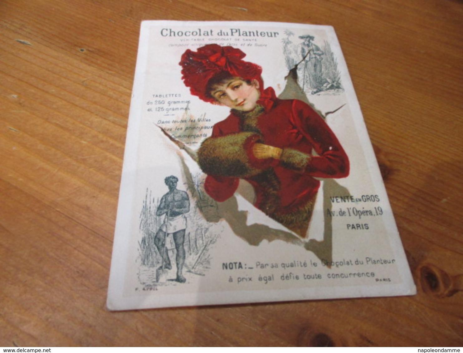 Chromo,Chocolat Du Planteur, - Suchard