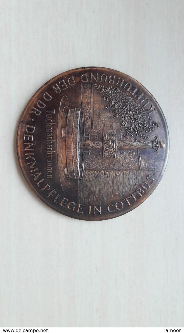 Alte Original DDR Medaille Original - Rame
