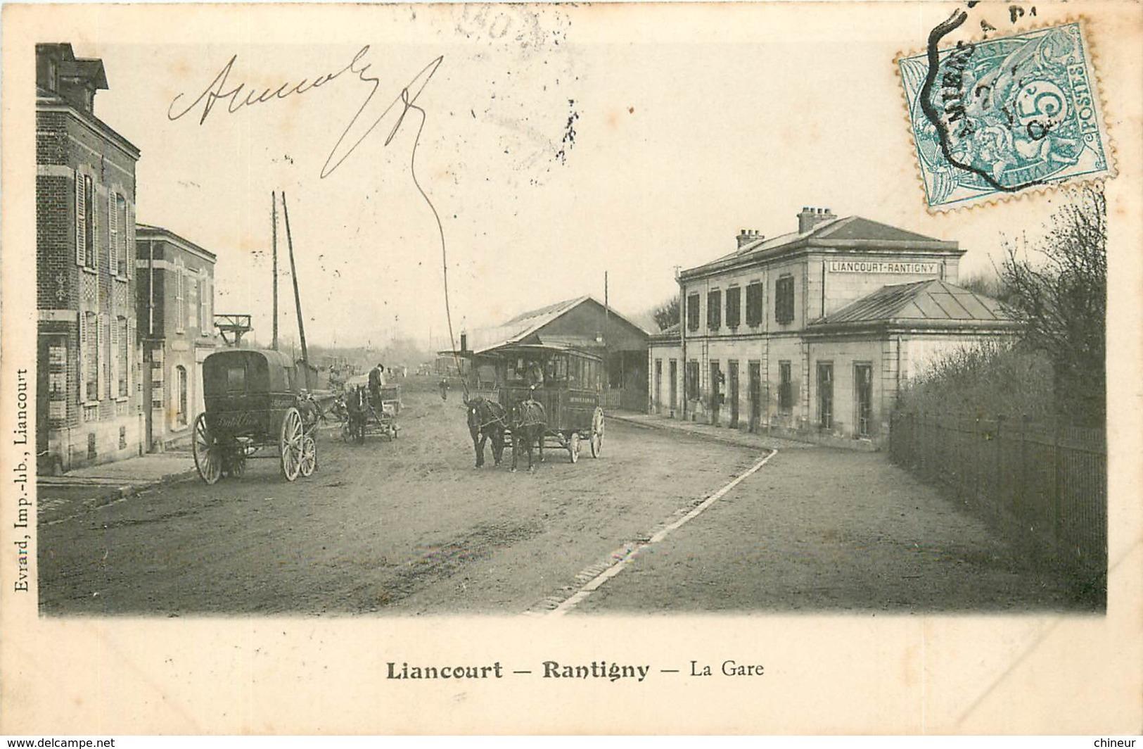 LIANCOURT RANTIGNY LA GARE - Liancourt