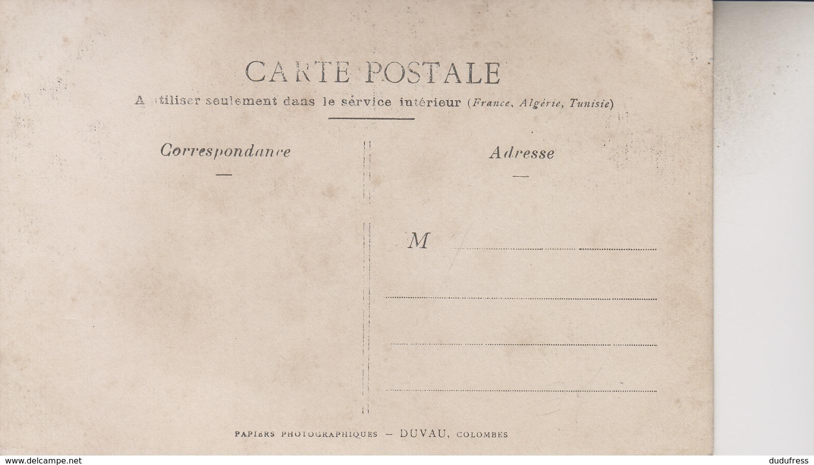 CARTE  PHOTO REGION COLOMBES    AFFICHE ELECTIONS ALEXIS MUZET   DEPUTE DE PARIS - Cartes Postales