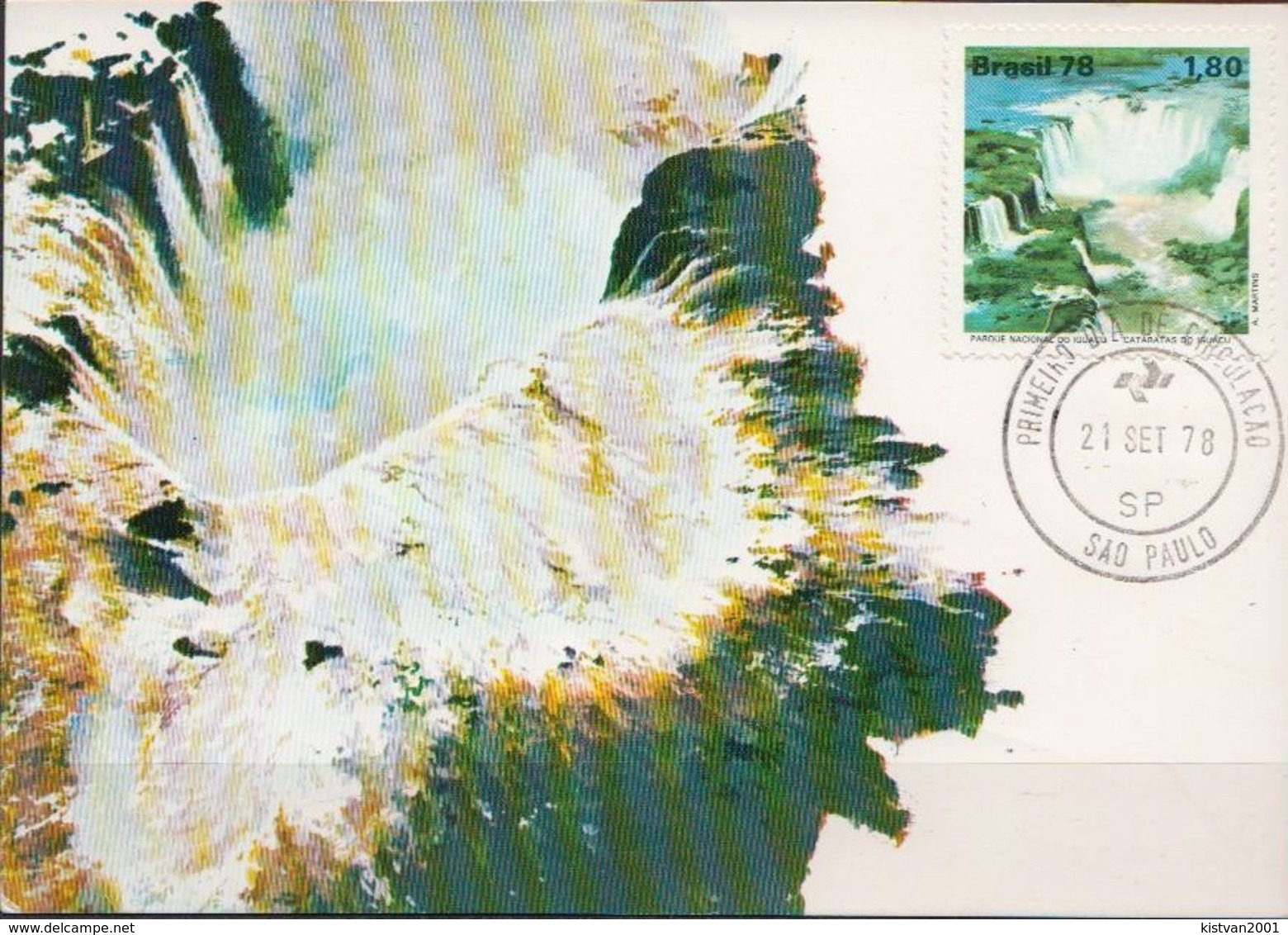 Brazil Stamp On Maximum Card - Other