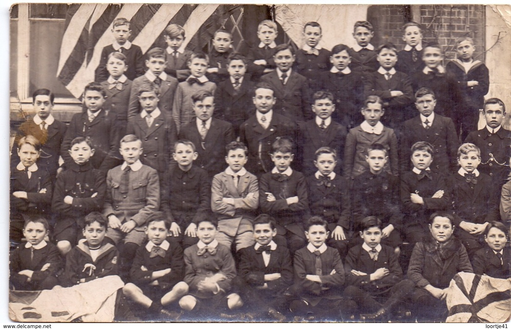 Photo Carte Photo Foto Fotokaart - Souvenir  Lat. Collège St Joseph Alast Aalst - C. De Kegel - 1919 - 1920 - Non Classés