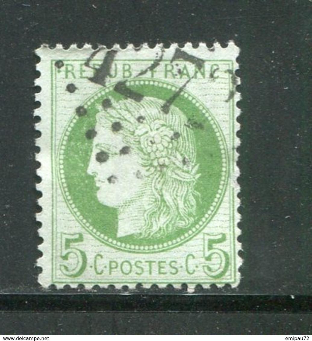 FRANCE- Y&T N°53- GC 4272 (VILLERS BRETONNEUX 76) - Marcophilie (Timbres Détachés)