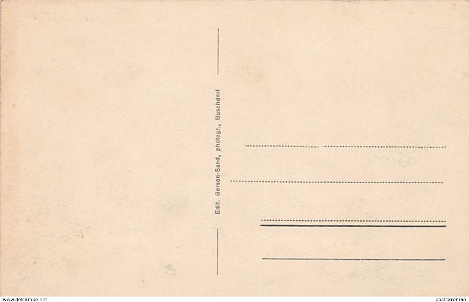 BUSCHDORF - Vue Générale - Ed. Gerson-Sand. - Postcards
