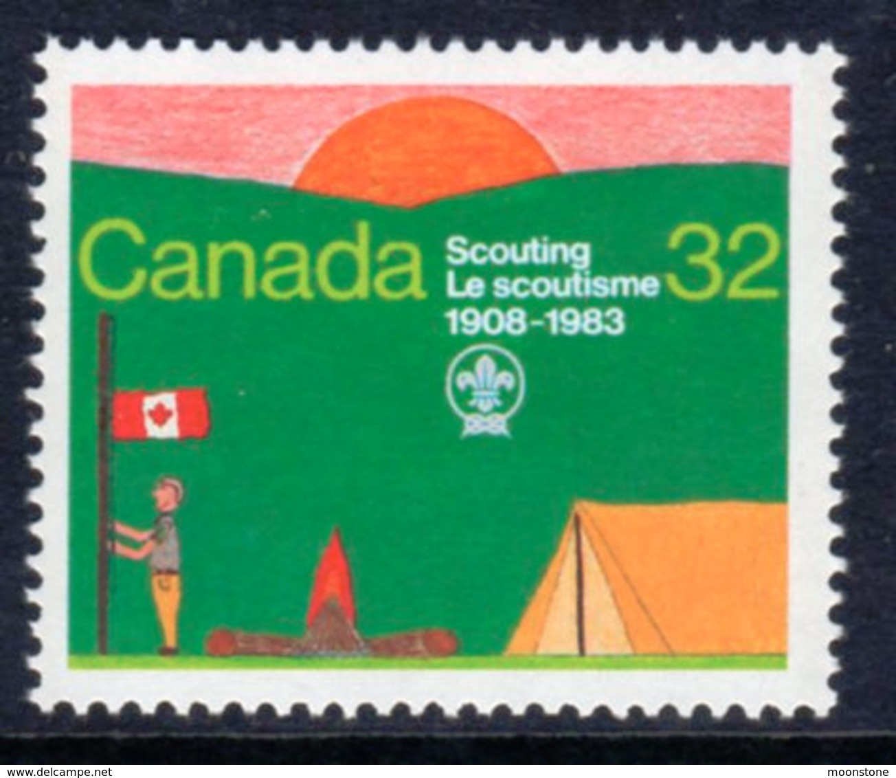 Canada 1983 75th Anniversary Of Scouting, MNH, SG 1100 - 1952-.... Reign Of Elizabeth II